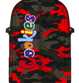 """COOKIES COOKIES SMELL PROOF """"THE BUNGEE"""" NYLON BACKPACK W/ CHENIILLE LETTERING"""