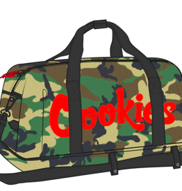 "COOKIES EXPLORER NYLON / POLY ""SMELL PROOF"" DUFEL BAG"