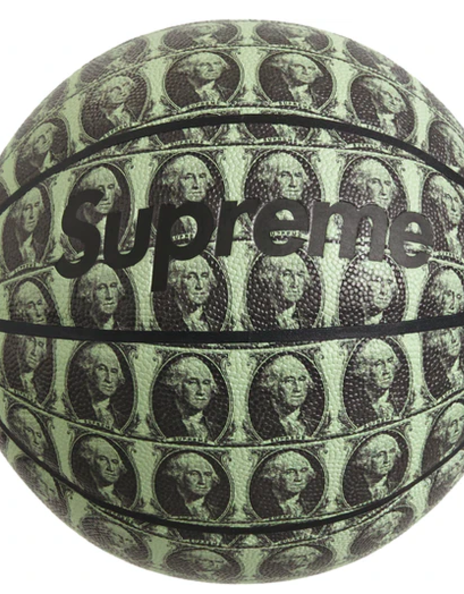 SUPREME Supreme Spalding Washington Basketball Pale Mint