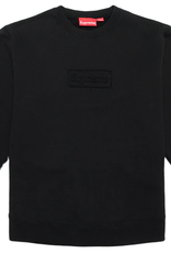 SUPREME Cutout Logo Crewneck Black XL