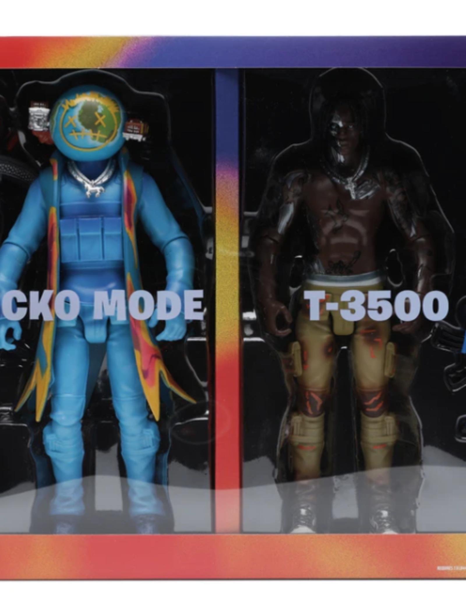 "TRAVIS SCOTT Travis Scott Cactus Jack Fortnite 12"" Action Figure Duo Set"