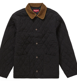 SUPREME Quilted Paisley Jacket Black XL