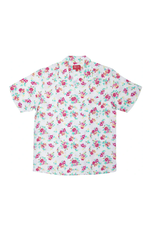 SUPREME Floral Rayon S/S Shirt White SMALL