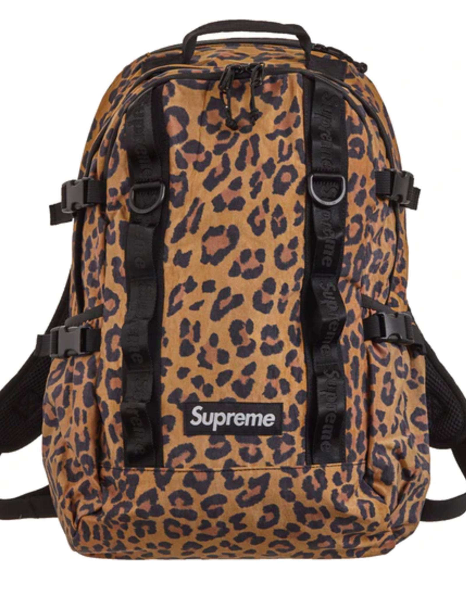 SUPREME Backpack (FW20) Leopard