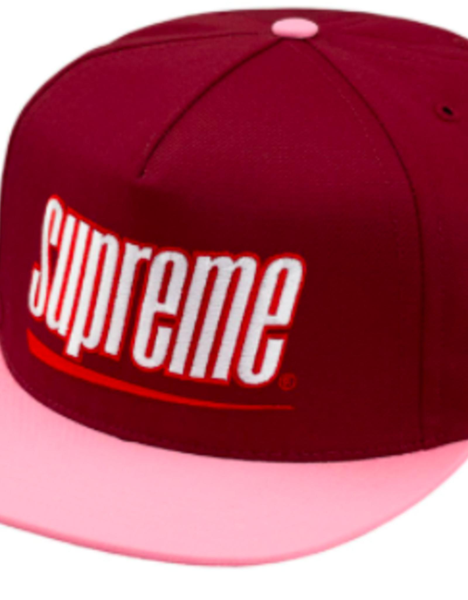 SUPREME Supreme Underline 5 Panel Dark Red
