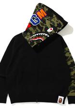 BAPE Giant Shark Full Zip Hoodie Black