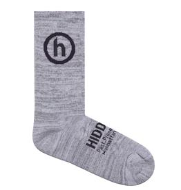 HIDDEN NYC Hidden NY Crew Socks Grey