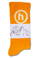Hidden NY Crew Socks Orange