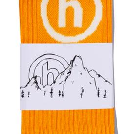 HIDDEN NYC Hidden NY Crew Socks Orange