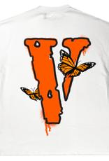 VLONE Juice Wrld x Vlone Butterfly T-Shirt White - Large