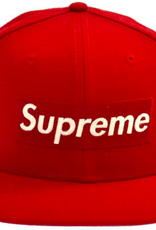 SUPREME RIP New Era FW16 Hat 7 1/4 RED