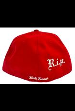 SUPREME RIP New Era FW16 Hat 7 1/4 RED