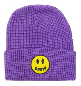 Mascot Waffle Beanie Purple