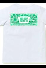 BAPE BAPE (B) CLASSIC RLX TEE - WHITE