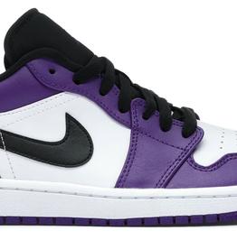 JORDAN Jordan 1 Low Court Purple White