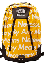 SUPREME The North Face By Any Means Base Camp Crimp Backpack Yellow