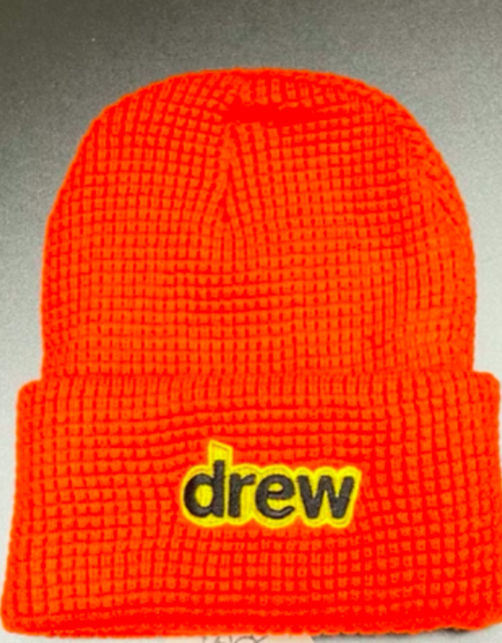 Secret Waffle Beanie ORANGE