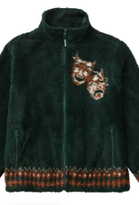 SUPREME Drama Mask Fleece Jacket Dark Green
