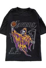 Warren Lotas Lakers Reaper Tee - Large