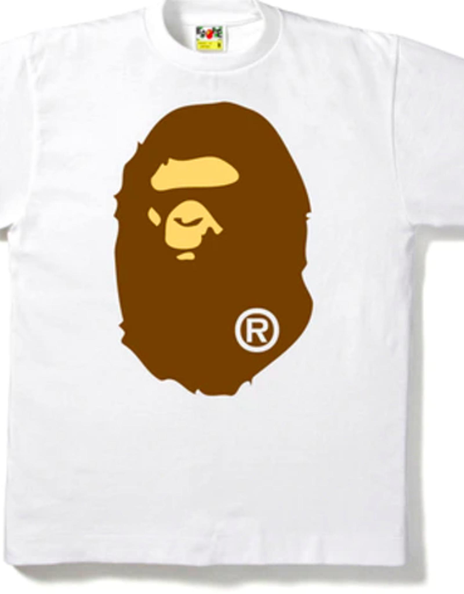 BAPE BAPE Big Ape Head Tee White - XL