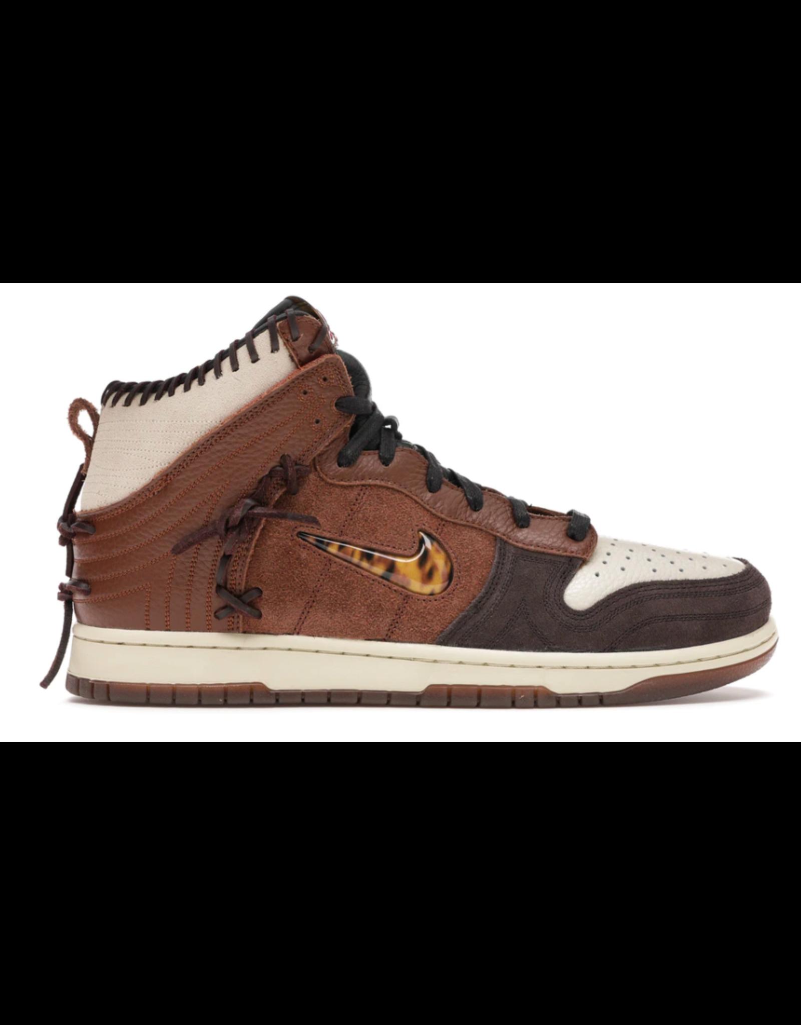 NIKE Nike Dunk High Bodega Legend Fauna Brown