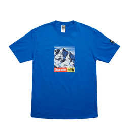 SUPREME x The North Face Mountain Tee Royal LG