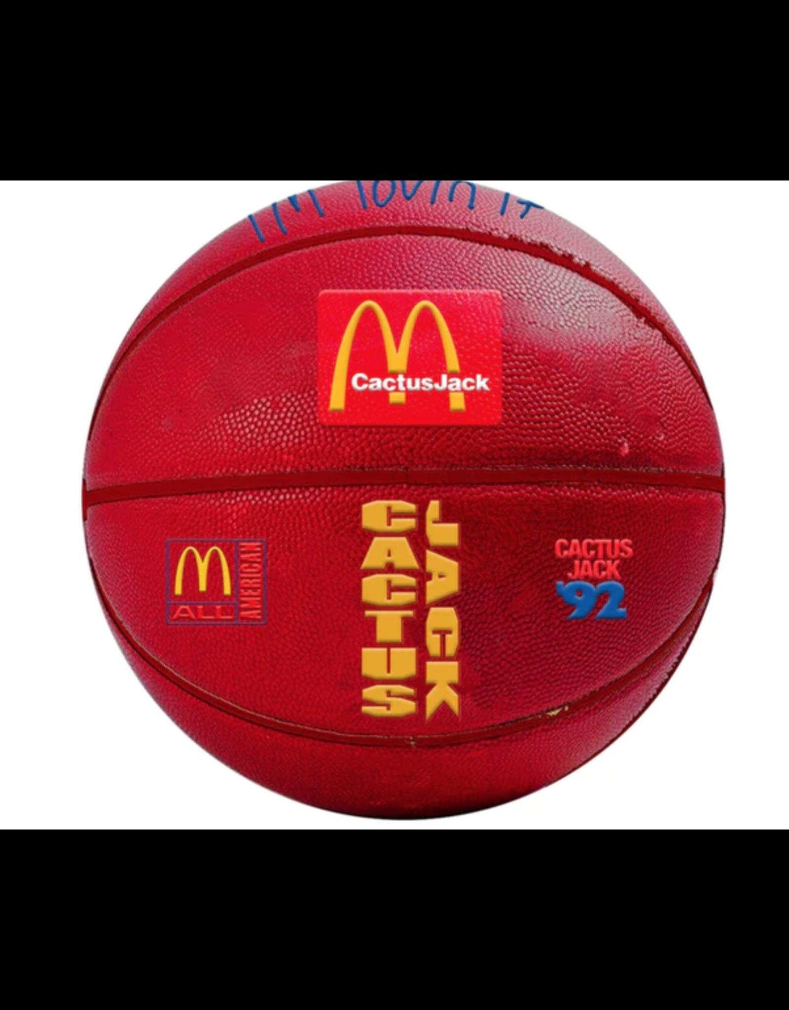 TRAVIS SCOTT Travis Scott x McDonalds All American 92' Basketball