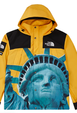 SUPREME The North Face Statue of Liberty Mountain Jacket Yellow MED
