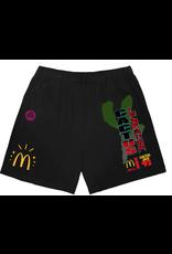 Travis Scott x McDonald's All American '92 II Shorts Black