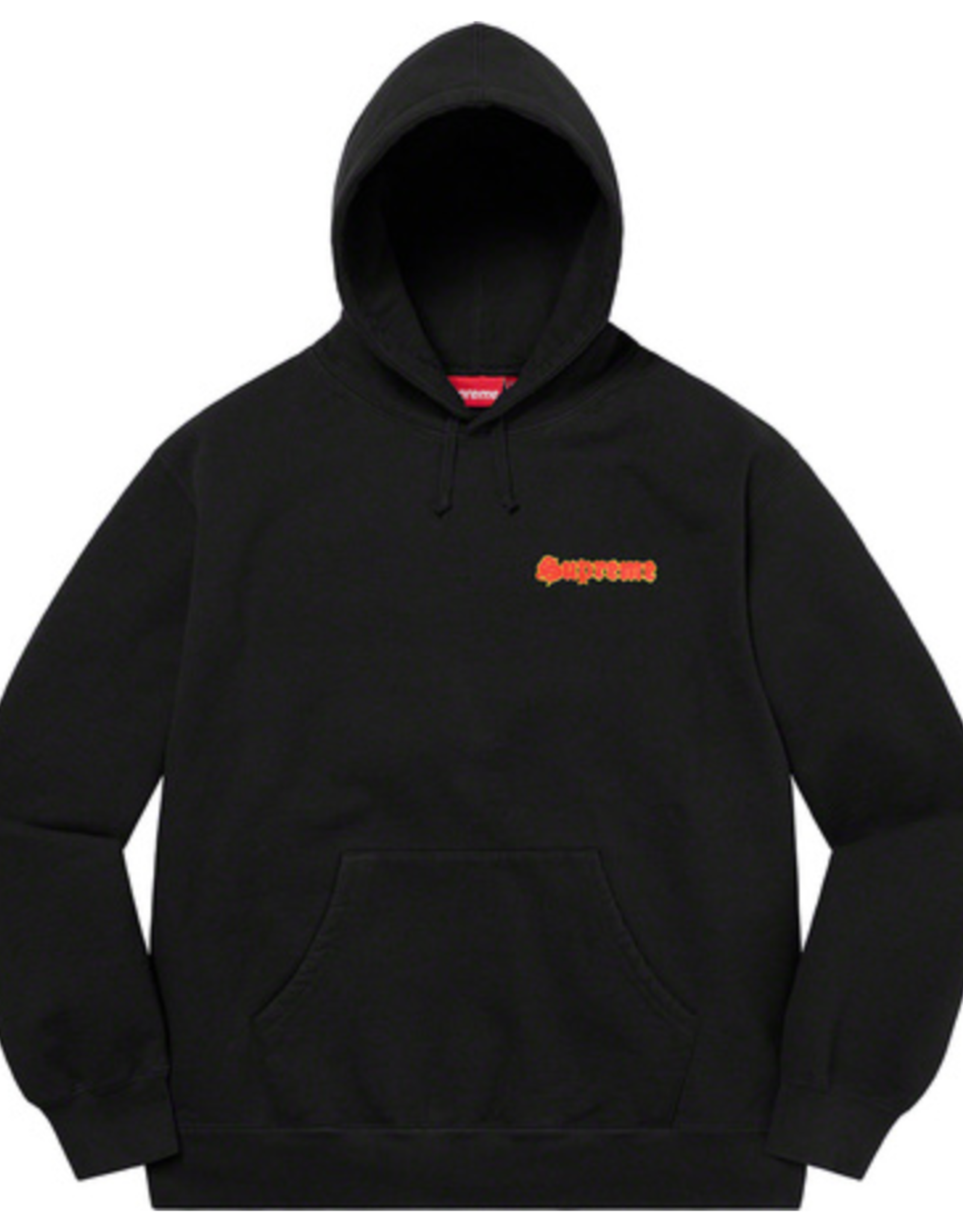 SUPREME Black Supreme Love Hooded Sweatshirt - XL