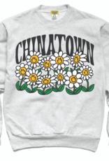 Chinatown Smiley Flower Power Crewneck