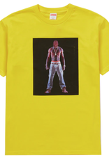 SUPREME Supreme Tupac Hologram Tee Yellow