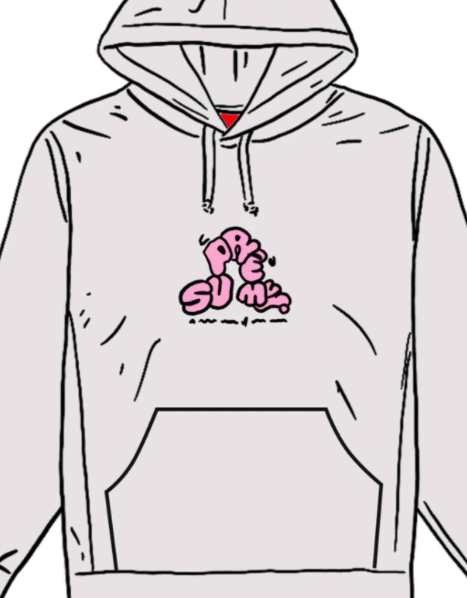 SUPREME Supreme Don't Care Hooded Sweatshirt Heather Multi XL