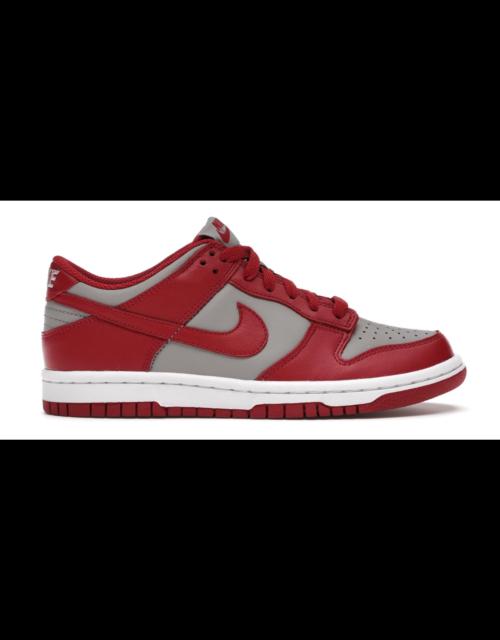 NIKE Nike Dunk Low Retro Medium Grey Varsity Red UNLV (GS) (2021)