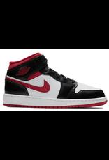 JORDAN Jordan 1 Mid Gym Red Black White