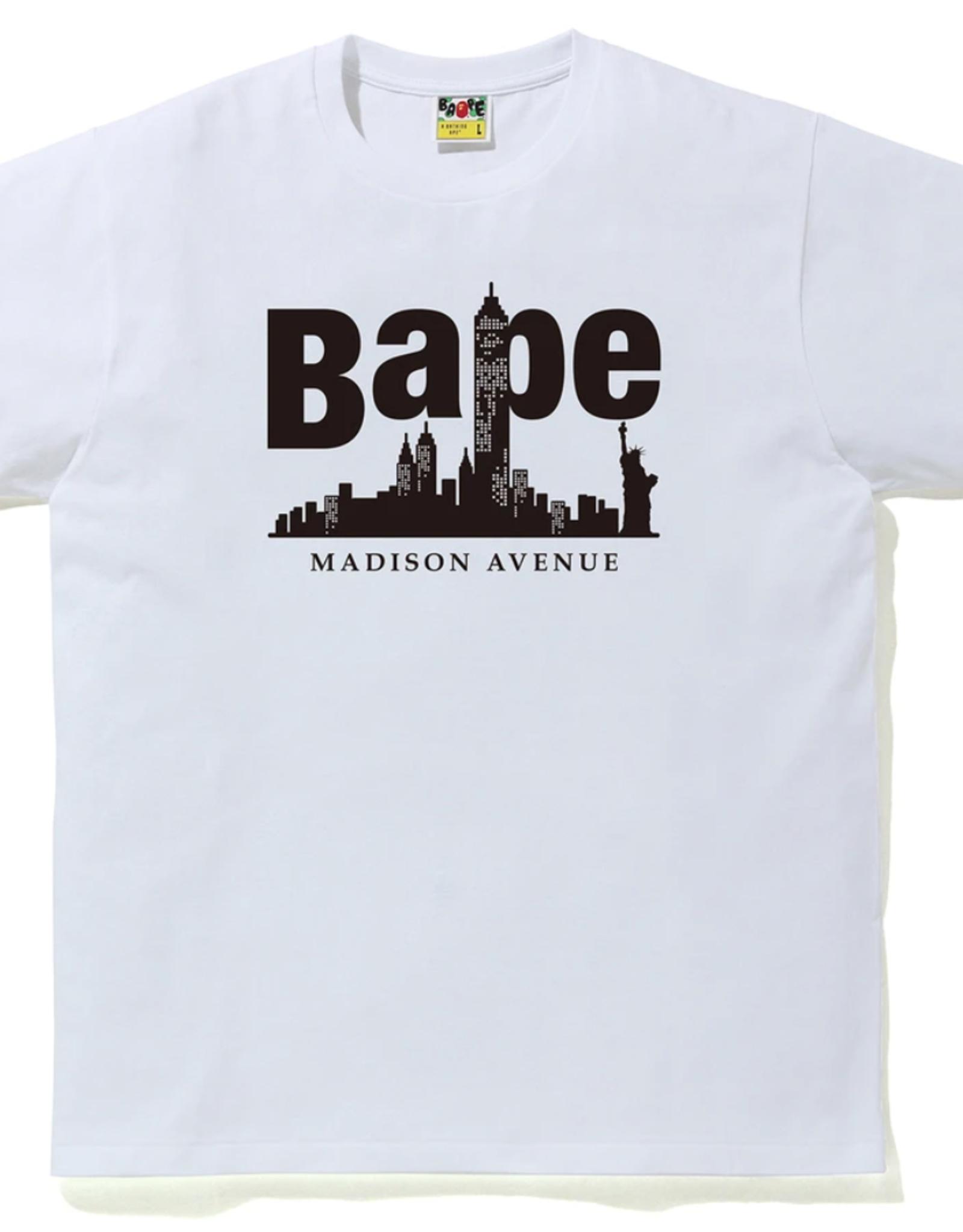BAPE Bape Madison Avenue Tee 1 - XL
