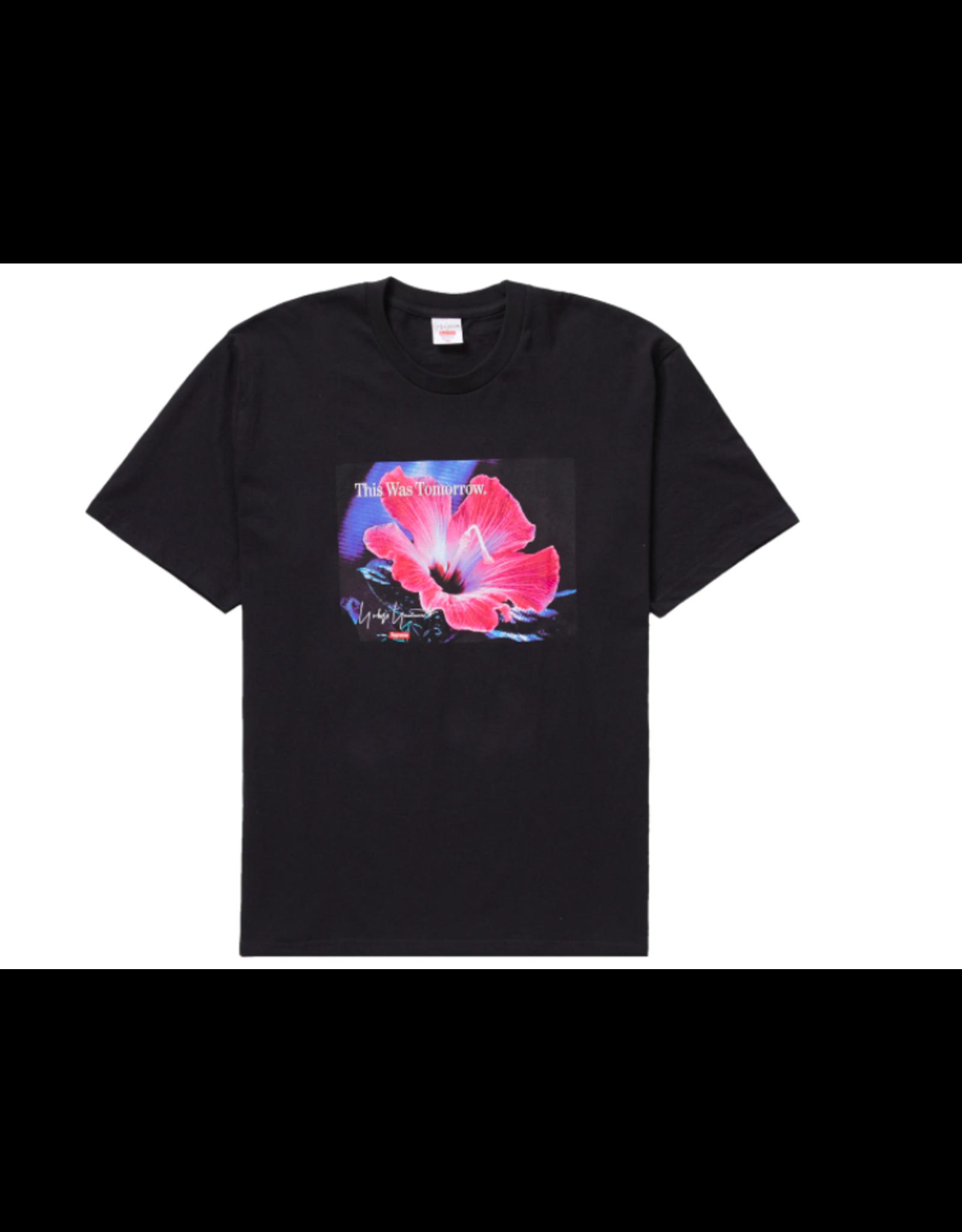 SUPREME Supreme Yohji Yamamoto This Was Tomorrow Tee Black LG