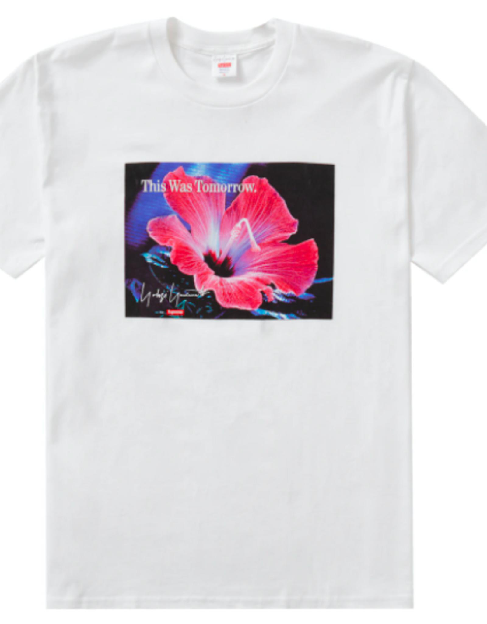 SUPREME Supreme Yohji Yamamoto This Was Tomorrow Tee White XL