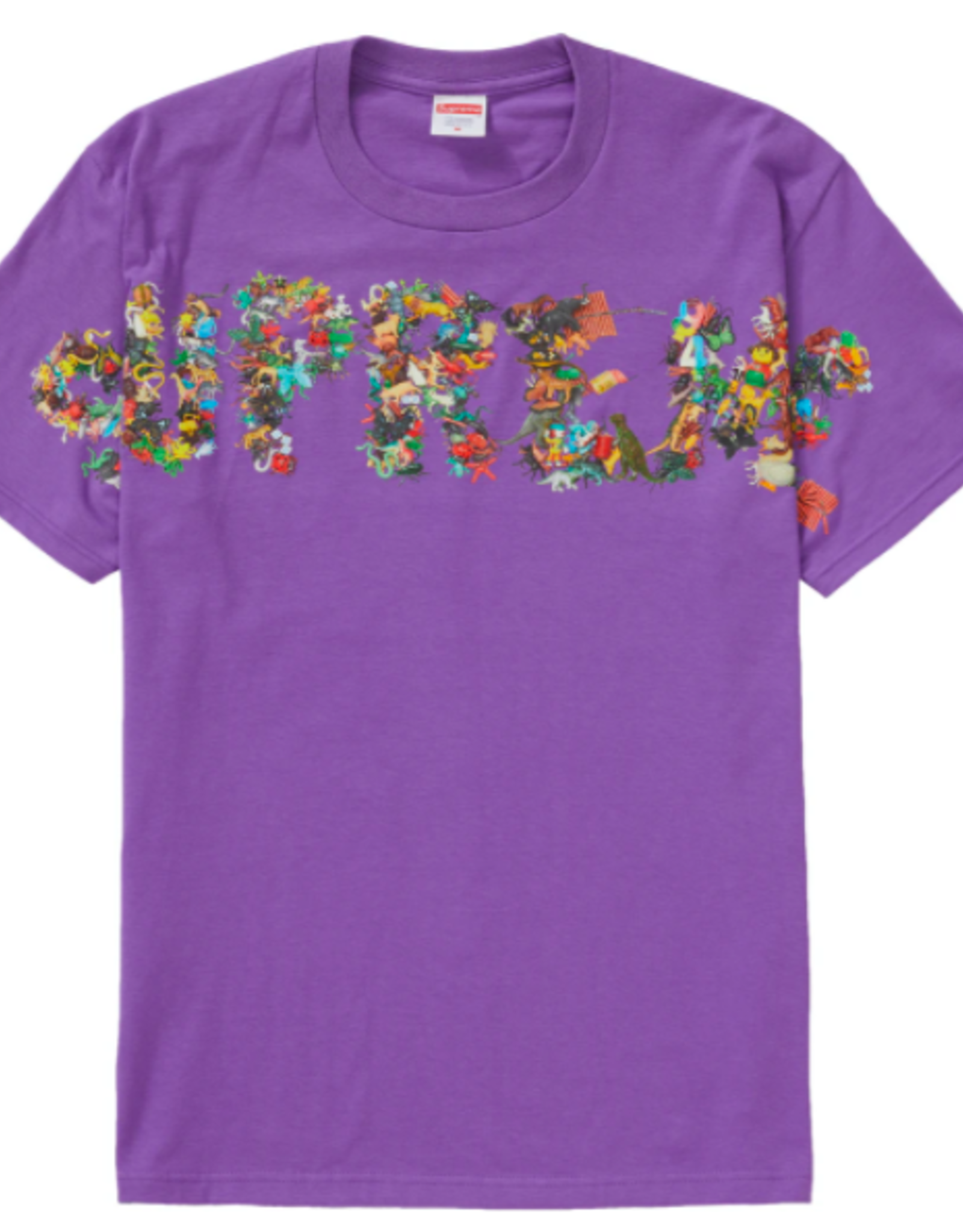 SUPREME Supreme Toy Pile Tee Purple MED