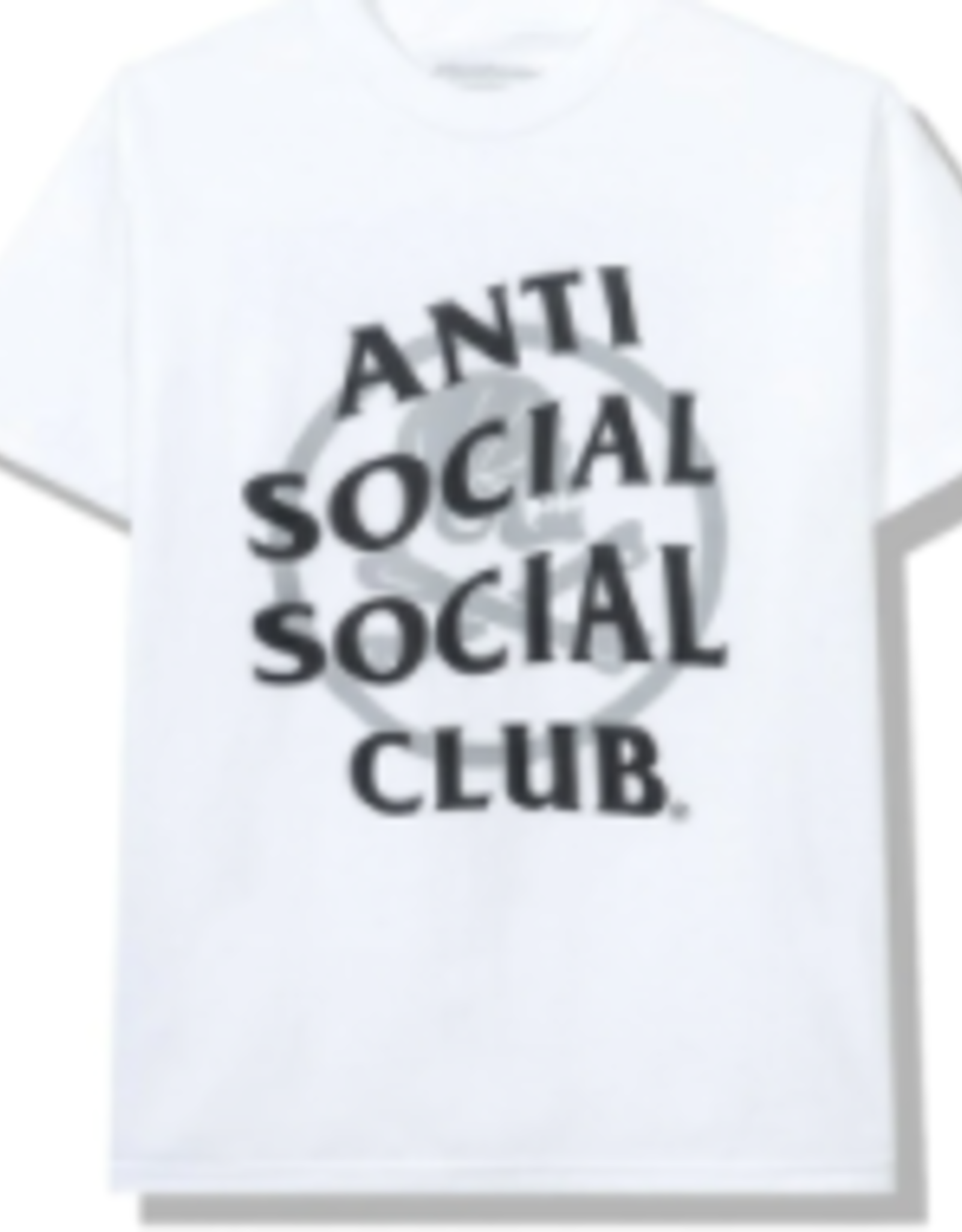 ASSC Anti Social Social Club x Neighborhood Cambered White Tee Tee White