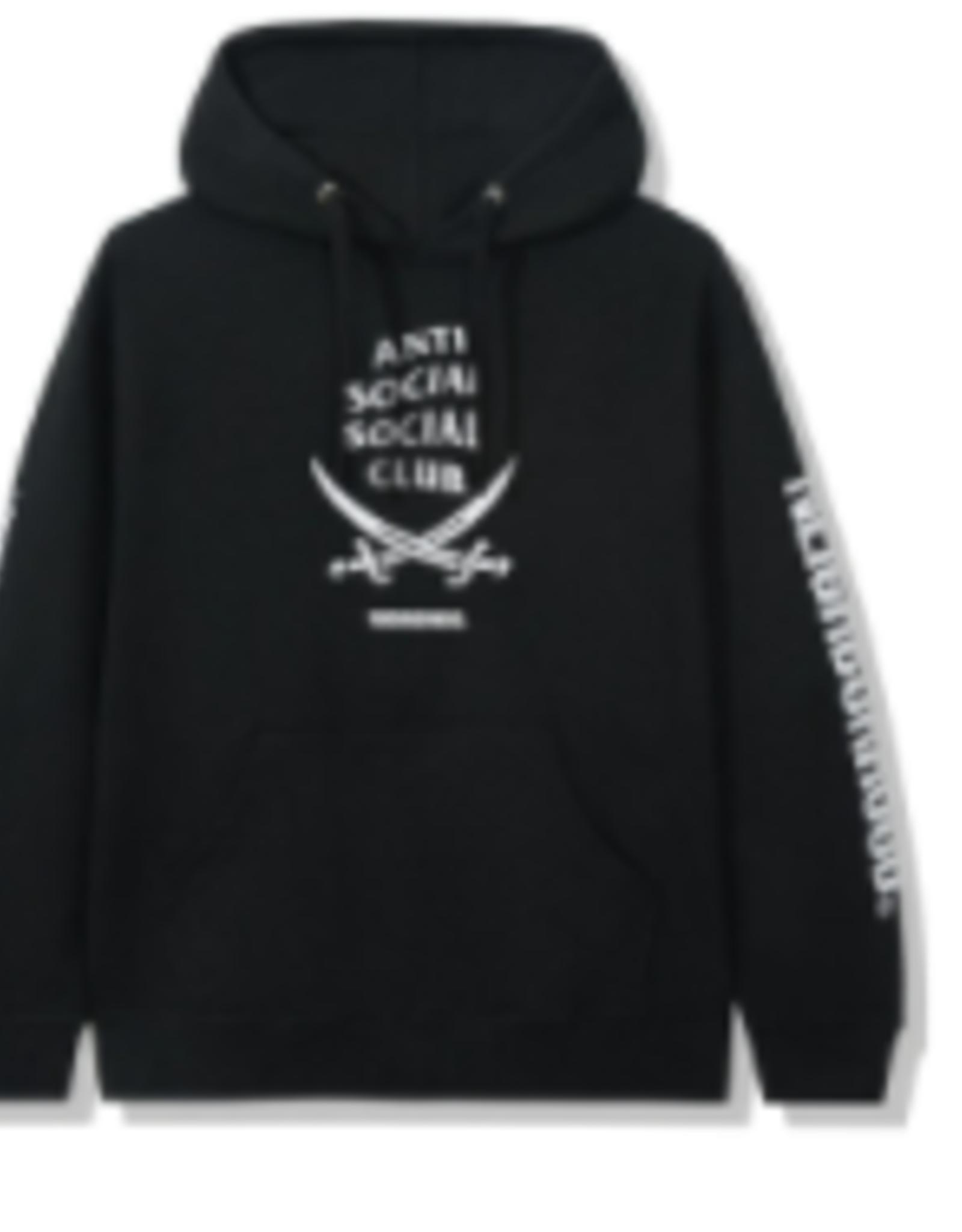 ASSC Anti Social Social Club x Neighborhood 6IX Black Hoodie Hoodie Black