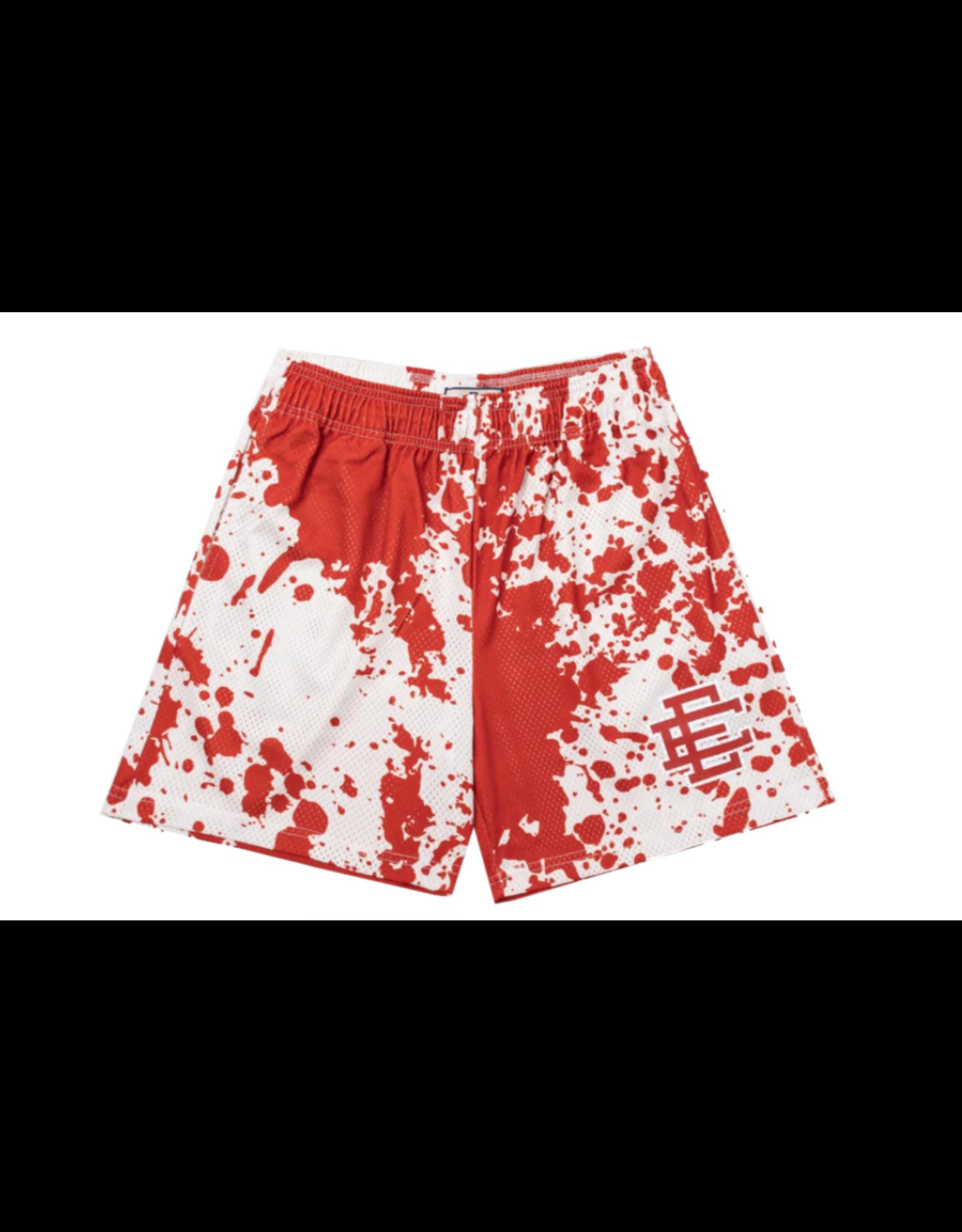 ERIC EMANUEL Eric Emanuel EE Basic Short Red Paint Spill MED