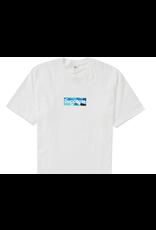 SUPREME Supreme Emilio Pucci Box Logo Tee White/Blue - Medium