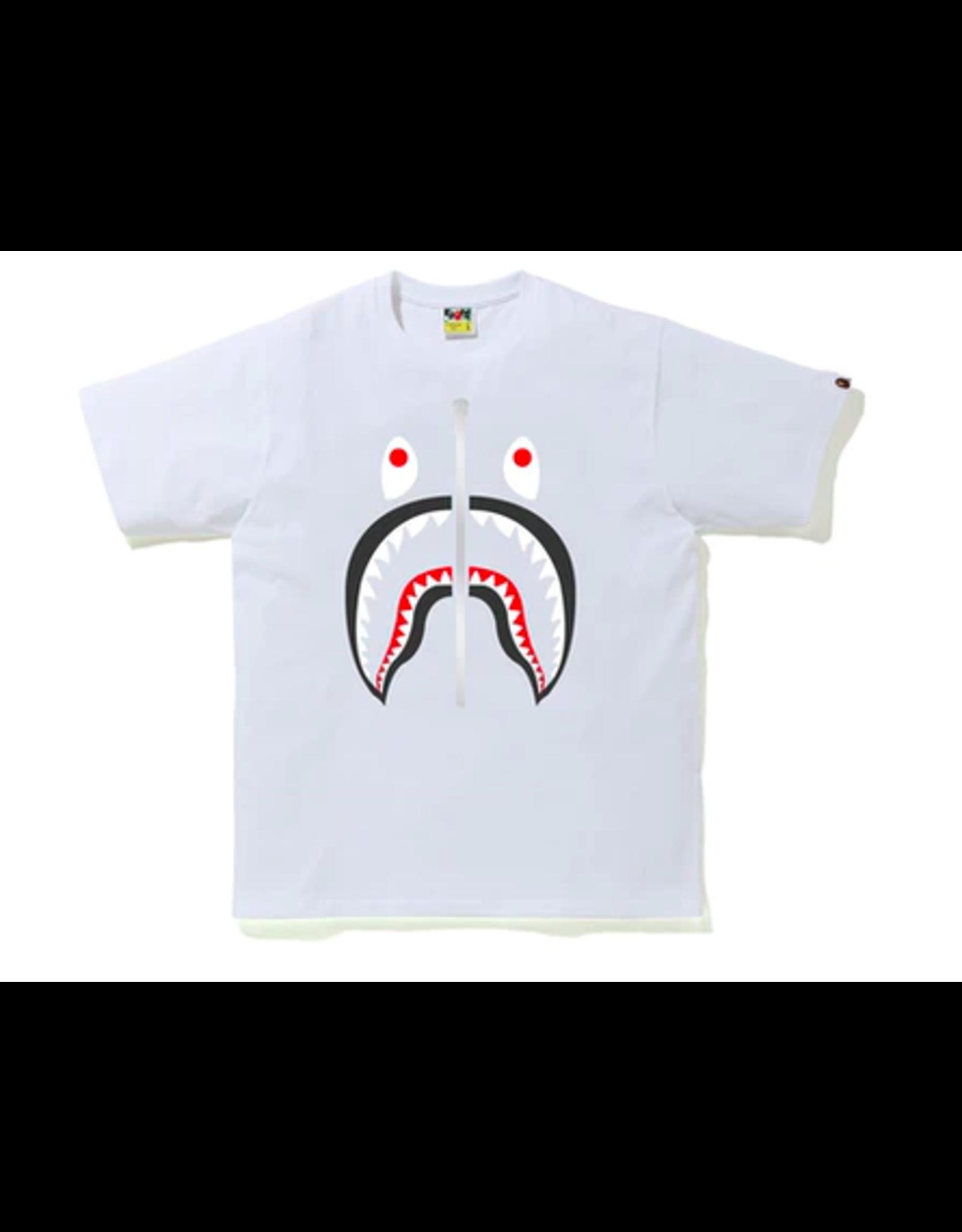 BAPE Bape Shark Tee White XL