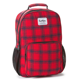 COOKIES Lumberjack Plaid Flannel Backpack