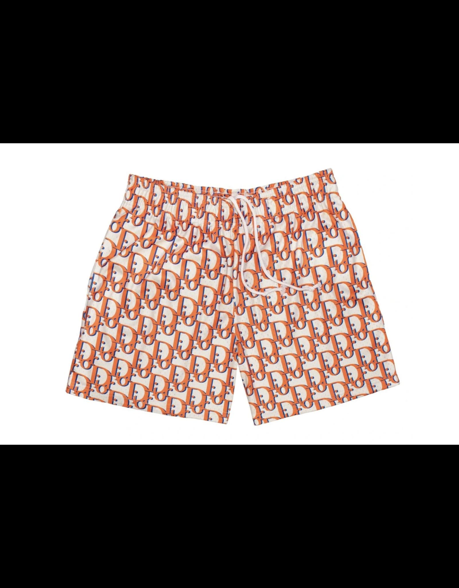 BRAVEST STUDIOS Oblique Shorts Orange XXL