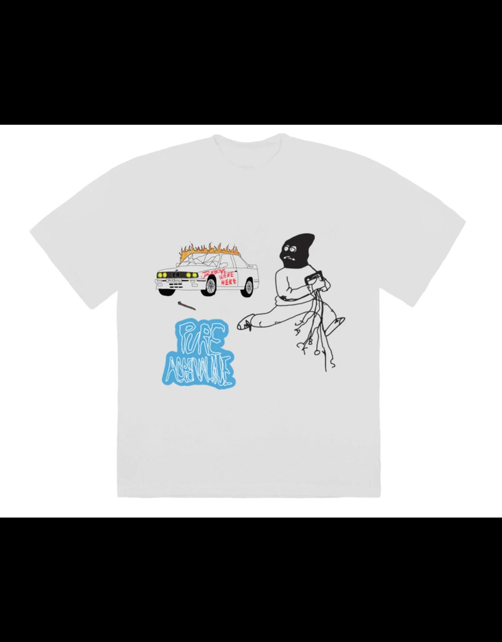 Travis Scott JACKBOYS Mask On T-shirt White MED