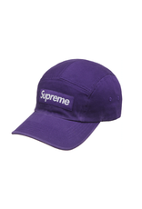 SUPREME Supreme Washed Chino Twill Camp Cap (FW21) Dark Purple