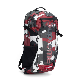 SUPREME Supreme Backpack Backpack (SS21) Red Camo