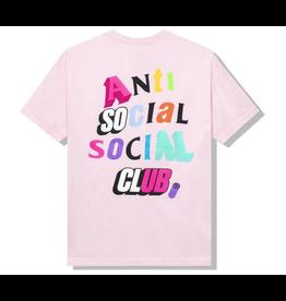 ASSC Anti Social Social Club The Real Me Tee Pink